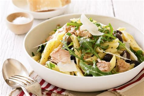 Green Valley Parmesan Cheese 80g tuna and olive pasta recipe taste au