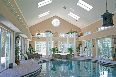 pool house interiors interior splendid spacious white cream indoor pool