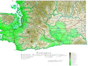 map us washington washington contour map