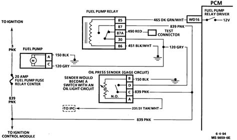 fuel info looking for wiring schematics on 1995 oldsmobile