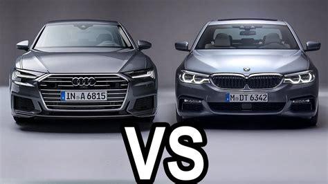Audi A6 Vs Bmw 5 by Audi A6 2019 Vs Bmw 5 Series 2018