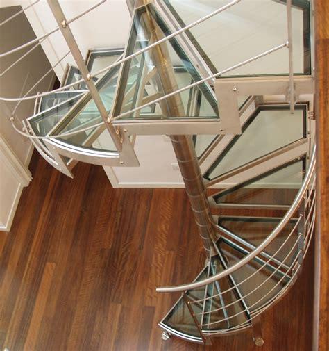 corrimano per scale a chiocciola scale su misura per interni elicoidali a chiocciola a