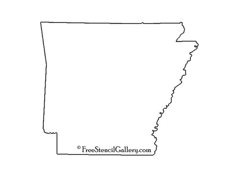 Search Arkansas State Outlines For Crafts