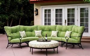 patio furniture sectional seating patio furniture seating sectional cast aluminum set