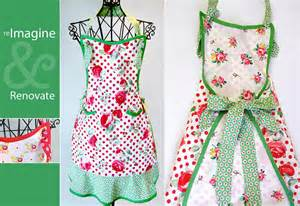 apron designs and kitchen apron styles re imagine renovate vintage style apron becomes a
