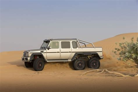 mercedes pickup truck 6x6 military version of mercedes g63 amg 6x6 extravaganzi