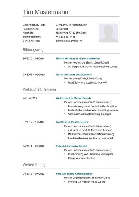 31 best images about lebenslauf vorlagen muster on free cv template classic and a