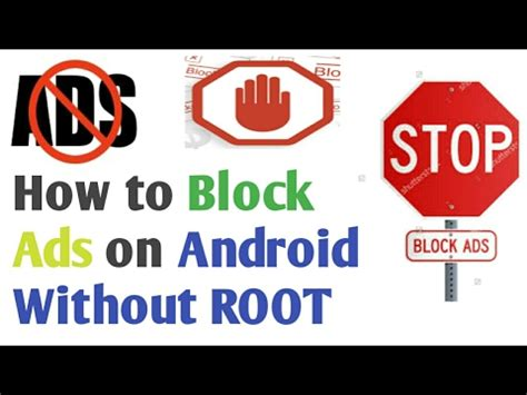 how to block ads on android how to block ads on android without root block ads in apps web browsers on android