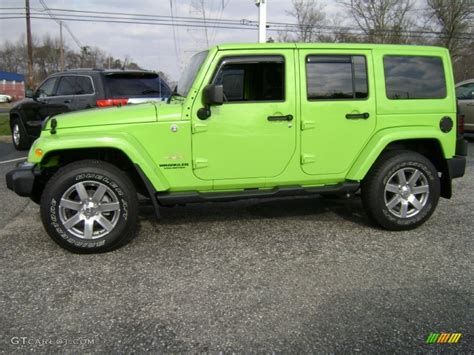 gecko green jeep gecko green pearl 2013 jeep wrangler unlimited sahara 4x4