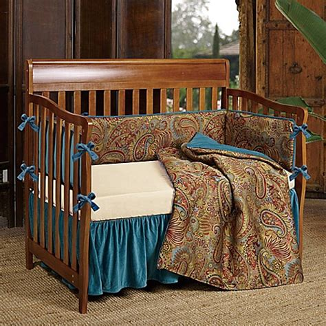 hiend accents san angelo crib bedding collection bed