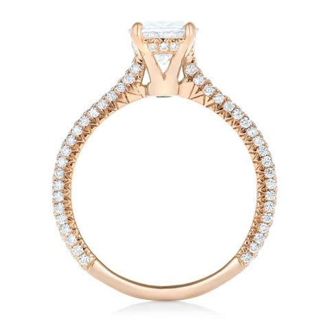 gold oval engagement ring 102561