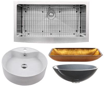 shop sinks and faucets kraus sinks and faucets at faucet com