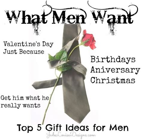 really valentines day ideas what want top 5 gift ideas for him get him what he
