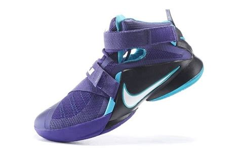 Sepatu Basket Lebron Soldier 7 Hornets nike lebron soldier ix basketball shoes hornets court purple 749417 510 zmshoes