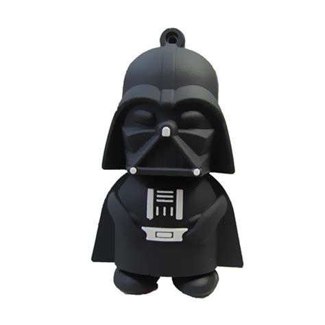 Wars Darth Vader 8 Gb Usb Memory Stick Flash Pen Drive darth vader usb flash drive juicebubble