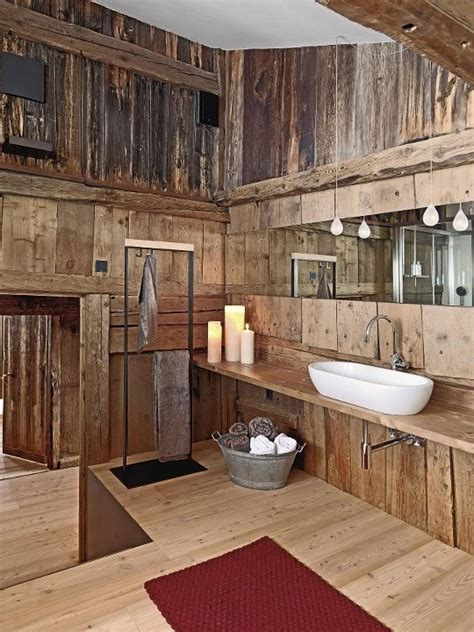 barnwood bathroom 17 chic and elegant wooden bathroom interiors