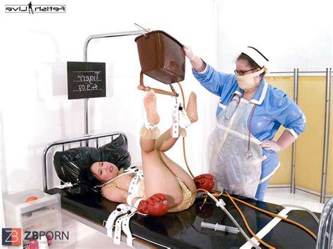 Spandex Nurse Spandex Enema ZB Porn