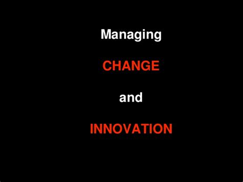 Mba Innovation And Data Analysis by Class Report Managing Change And Innovation Plm Mba Tep