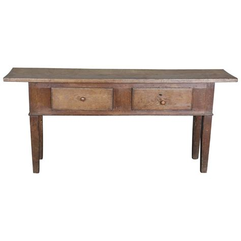 Narrow Sofa Table Narrow 19th Century Console Table For Sale At 1stdibs