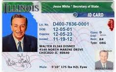 illinois id card template scrappng on