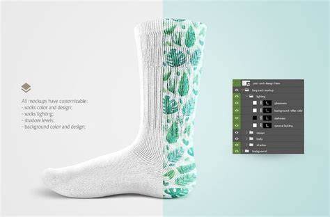 17 Socks Mockup Template Psd Design Download Texty Cafe Sock Sublimation Template