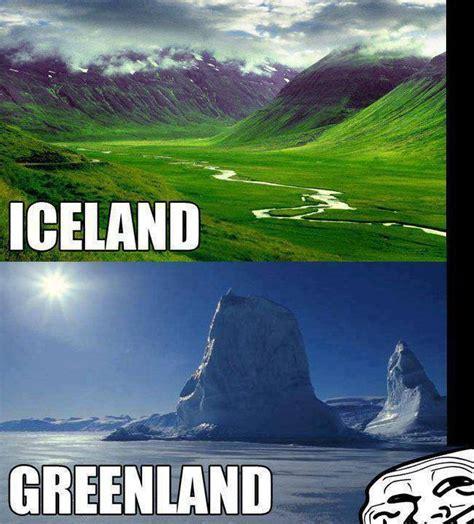 Iceland Meme - best meme iceland vs greenland