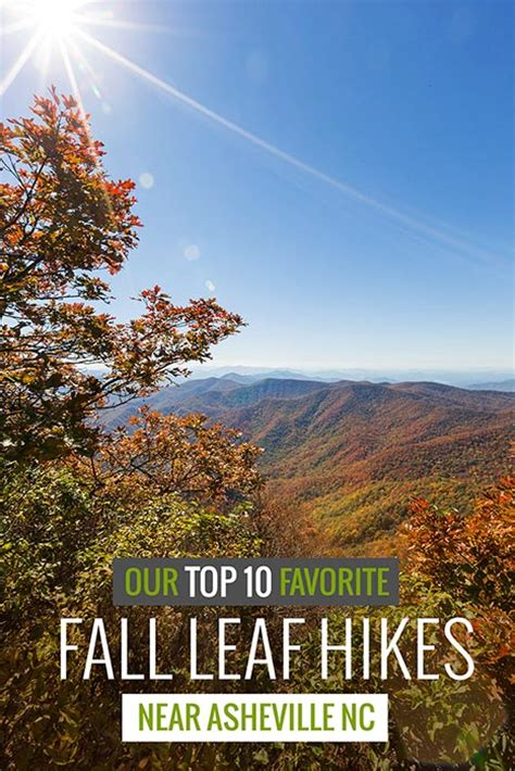 asheville fall colors best fall hikes near asheville our top 10 favorite autumn