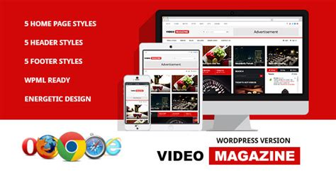 10 best free video wordpress themes designmaz