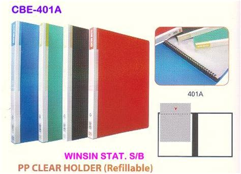 Bantex Pp Pocket 8040 A4 Clear 20 Sheets Pack 1 Pack winsin stationery sdn bhd
