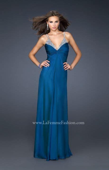 la femme  dripping  diamonds prom dress