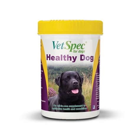 healthy dogs vetspec healthy vitamin and mineral nutritional support for dogs