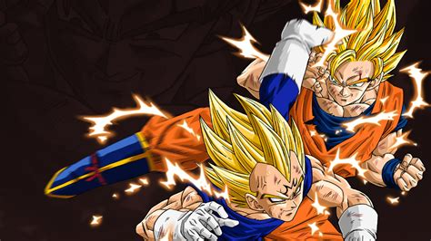 dragon ball y wallpaper goku vegeta wallpaper dragon ball z wallpaper