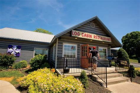Cabin Restaurants by Log Cabin Restaurant Serves Tasty Cuisine