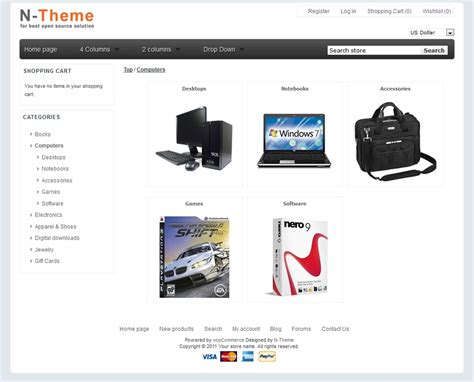 nop commerce templates nopcommerce template jewelry 1 90 new