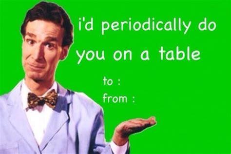 Valentines Day Sex Meme - bill nye card