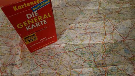 Die Motorrad Generalkarte Deutschland by Kartenmaterial F 252 R Motorradfahrer Motorrad Tour Online
