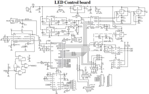 led display panel wiring diagram wiring diagram with