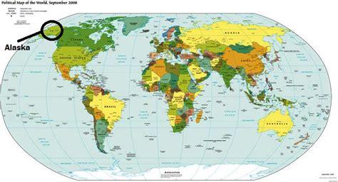 carte alaska carte du monde