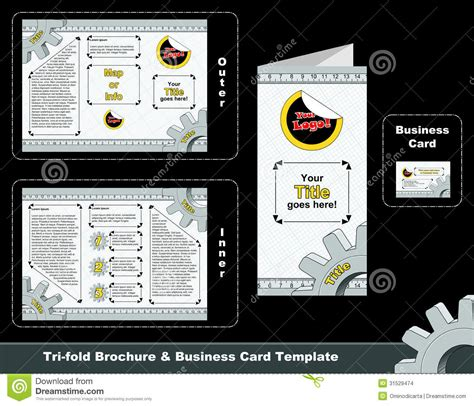 tri fold business card template word mandegar info