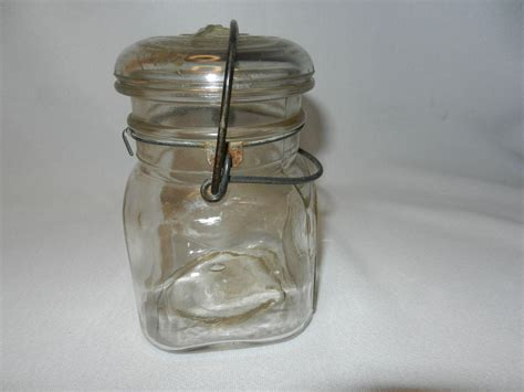 Antique Jar Ls by Vintage Acme Fruit Pint Canning Jar From