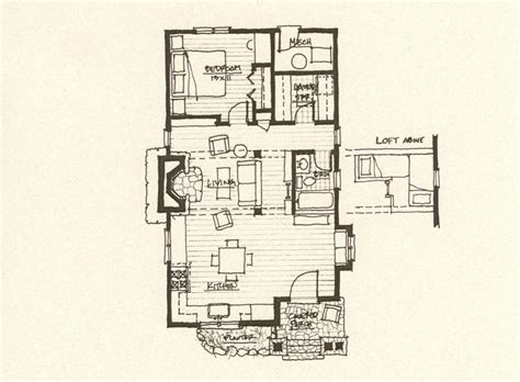 storybook floor plans mountain architects hendricks architecture idaho storybook cabin plan
