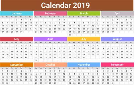 Printable Annual Calendar