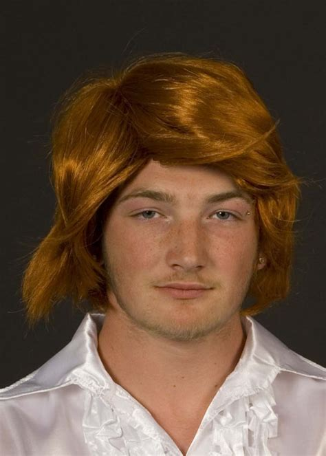 pub shop wigs male wig ginger mens 70s ginger tony wig
