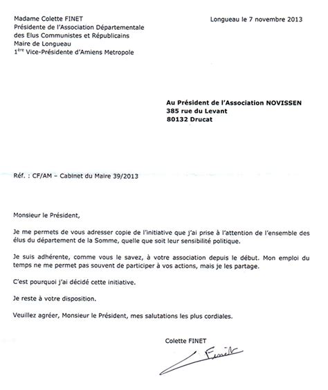 Exemple De Lettre Administrative Au Maire Trouver Modele Lettre A Mme Le Maire