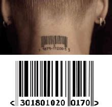 pinks barcode tattoo meaning bar code tattoos tattooforaweek com temporary tattoos