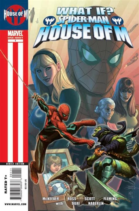 house of m what if spider man house of m vol 1 1 marvel comics database
