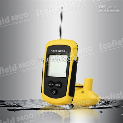 35 meters in feet portable 90 degree 115 feet 35 meters wireless sonar fish