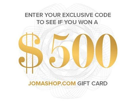 Jomashop Gift Card - www jomashop com win html win up to 500 in jomashop com gift card from jomashop