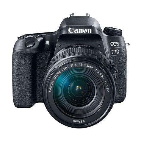 Terbaru Canon Eos 77d Kit 18 135mm Is Usm Paket Promo Jual Canon Eos 77d Kit 18 135mm Is Usm Kamera Dslr Black