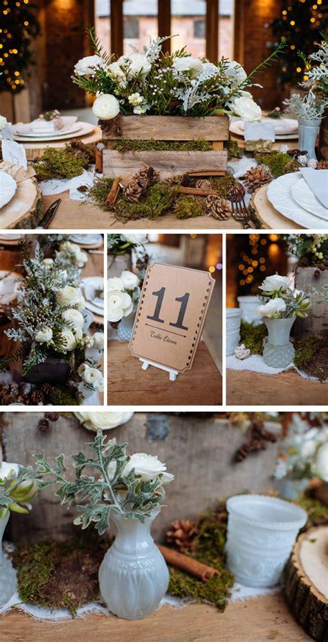 winter wedding decorations uk rustic winter woodland wedding decorations
